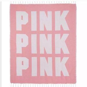 PINK Victoria's Secret festival blanket